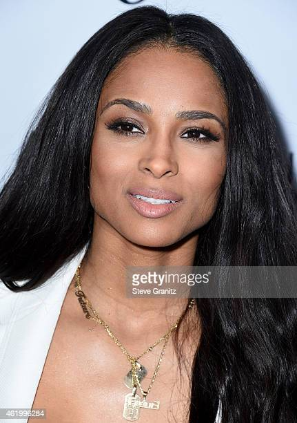Ciara arrives at the The Daily Front Row's 1st Annual Fashion Los Angeles Awards at Sunset Tower Hotel on January 22 2015 in West Hollywood California