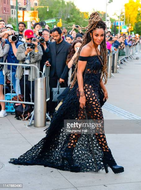 Ciara arrives for the 2019 CFDA fashion awards at the Brooklyn Museum on June 3, 2019 in New York City.