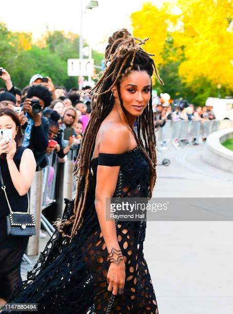 Ciara arrives for the 2019 CFDA fashion awards at the Brooklyn Museum on June 3 2019 in New York City