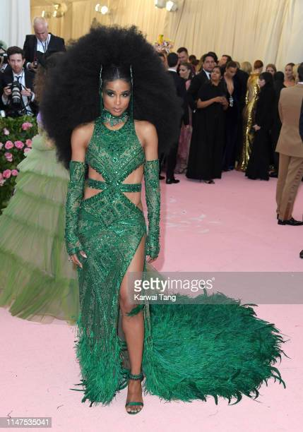Ciara arrives for the 2019 Met Gala celebrating Camp Notes on Fashion at The Metropolitan Museum of Art on May 06 2019 in New York City