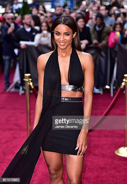 Ciara arrives to Billboard's 10th Annual Women In Music at Cipriani 42nd Street on December 11, 2015 in New York City.