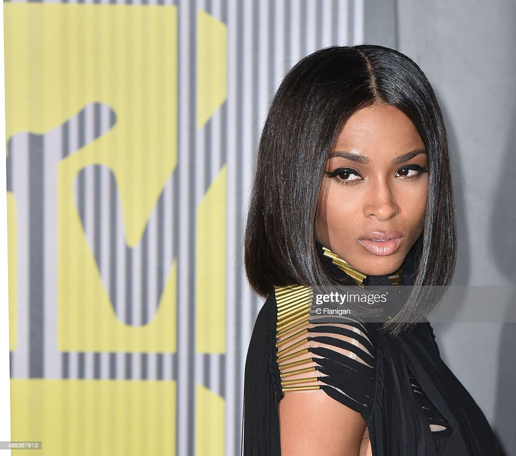 Ciara arrives to the 2015 MTV Video Music Awards at Microsoft Theater on August 30, 2015 in Los Angeles, California.