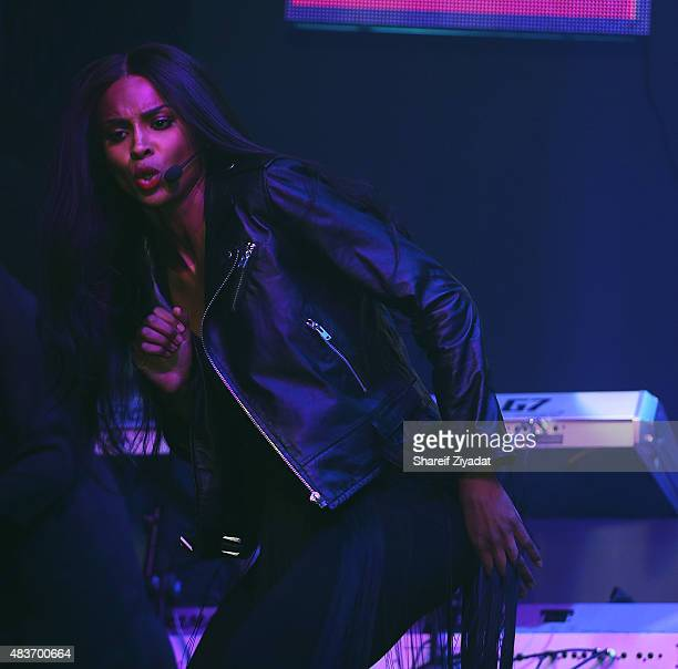 Ciara at Stage 48 on August 11 2015 in New York City