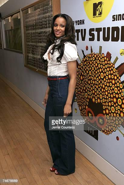Ciara at the MTV Studios in New York City, New York City