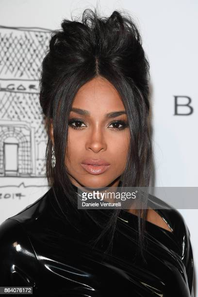 Ciara attends a party to celebrate the Bvlgari Flagship Store Reopening on October 20 2017 in New York City