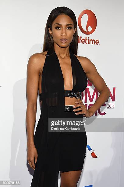 Ciara attends Billboard Women In Music 2015 at Cipriani 42nd Street on December 11 2015 in New York City