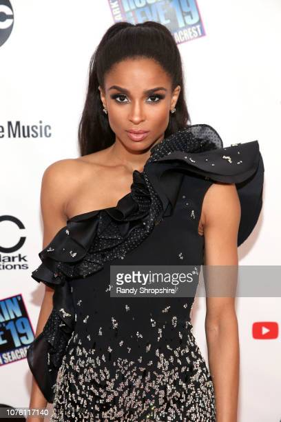 Ciara attends Dick Clark's New Year's Rockin' Eve With Ryan Seacrest 2019 on December 31 2018 in Los Angeles California
