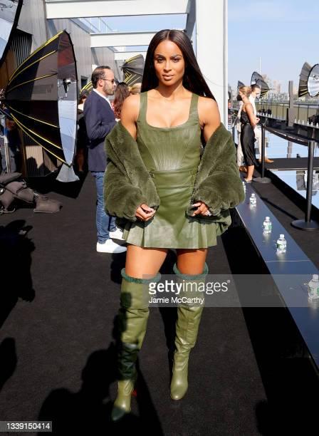 Ciara attends DUNDAS x REVOLVE NYFW Runway Show Casa Cipriani on September 08, 2021 in New York City.