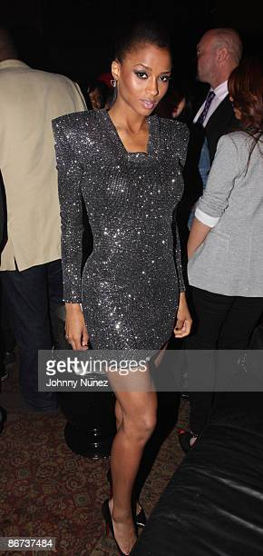 Ciara attends her Fantasy Ride album release party at M2 Ultra Lounge on May 7 2009 in New York City