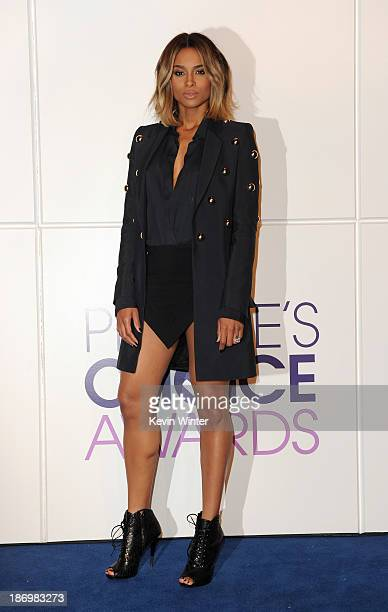 Ciara attends People's Choice Awards 2014 Nominations Press Conference at The Paley Center for Media on November 5 2013 in Beverly Hills California
