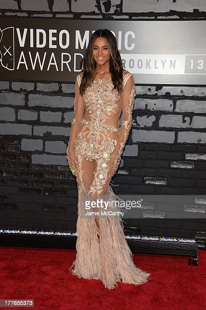 Ciara attends the 2013 MTV Video Music Awards at the Barclays Center on August 25 2013 in the Brooklyn borough of New York City