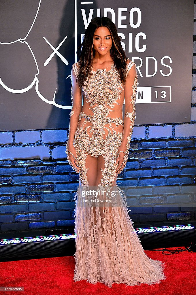 Ciara attends the 2013 MTV Video Music Awards at the Barclays Center on August 25, 2013 in the Brooklyn borough of New York City.