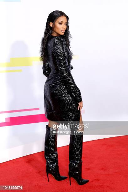 Ciara attends the 2017 American Music Awards at Microsoft Theater on November 19 2017 in Los Angeles California United States