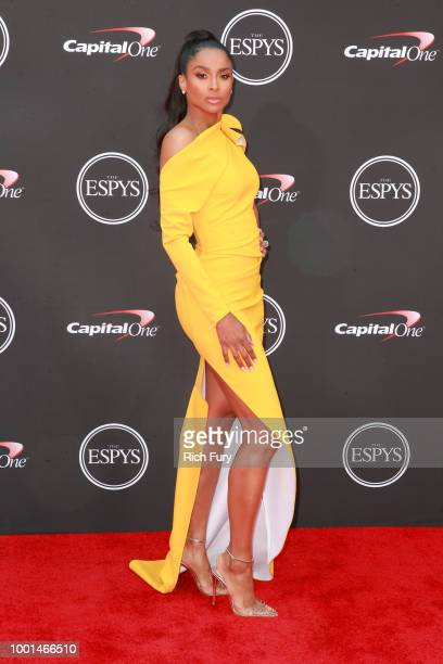Ciara attends the 2018 ESPYS at Microsoft Theater on July 18 2018 in Los Angeles California
