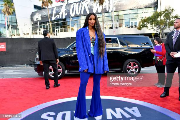 Ciara attends the 2019 American Music Awards at Microsoft Theater on November 24 2019 in Los Angeles California