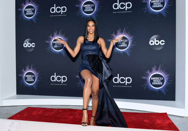 CA: 2019 American Music Awards Press Day And Red Carpet Roll-Out With Host Ciara
