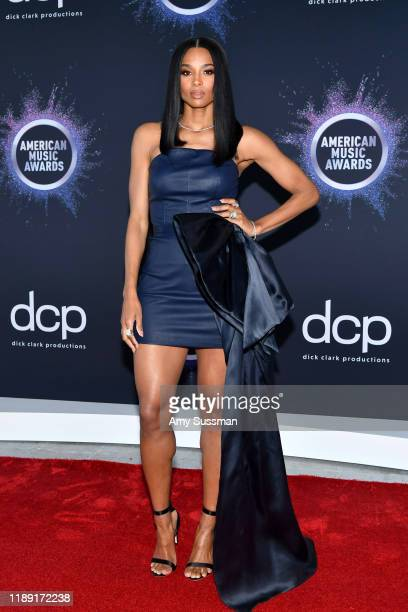 Ciara attends the 2019 American Music Awards Press Day and Red Carpet RollOut with Host Ciara at Microsoft Theater on November 21 2019 in Los Angeles...