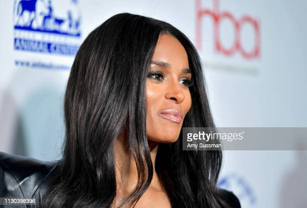 Ciara attends the 2019 Hollywood Beauty Awards at Avalon Hollywood on February 17 2019 in Los Angeles California