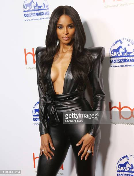 Ciara attends the 2019 Hollywood Beauty Awards held at Avalon Hollywood on February 17 2019 in Los Angeles California