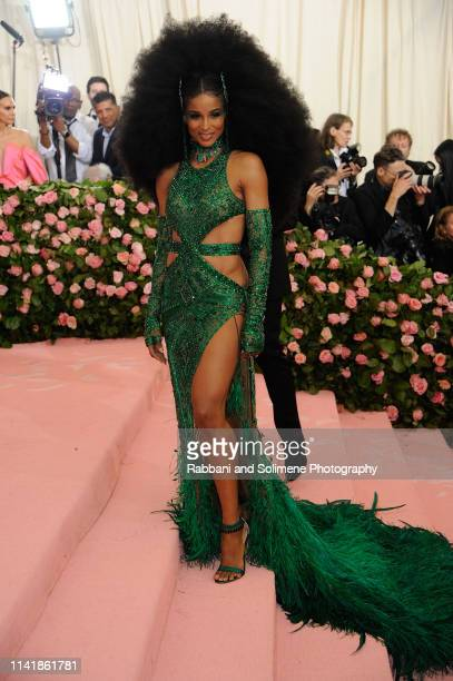 Ciara attends The 2019 Met Gala Celebrating Camp Notes On Fashion at The Metropolitan Museum of Art on May 6 2019 in New York City
