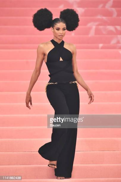 Ciara attends The 2019 Met Gala Celebrating Camp Notes on Fashion at Metropolitan Museum of Art at on May 6 2019 in New York City