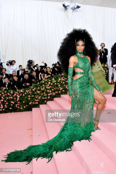 Ciara attends The 2019 Met Gala Celebrating Camp Notes on Fashion at Metropolitan Museum of Art on May 06 2019 in New York City