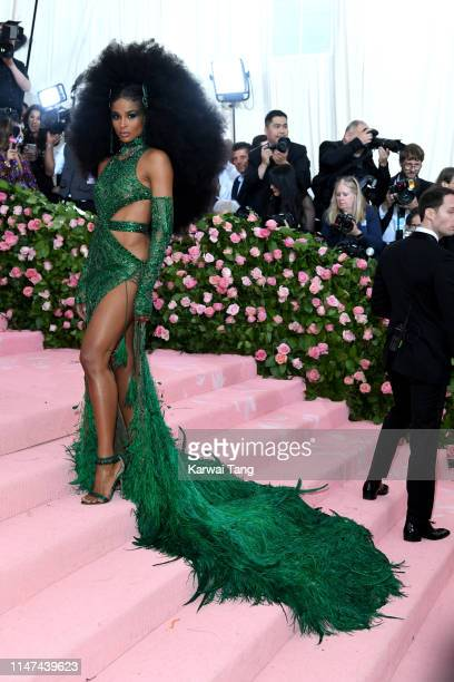 Ciara attends The 2019 Met Gala Celebrating Camp Notes On Fashion at The Metropolitan Museum of Art on May 06 2019 in New York City