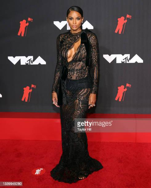 Ciara attends the 2021 MTV Video Music Awards at Barclays Center on September 12, 2021 in the Brooklyn borough of New York City.