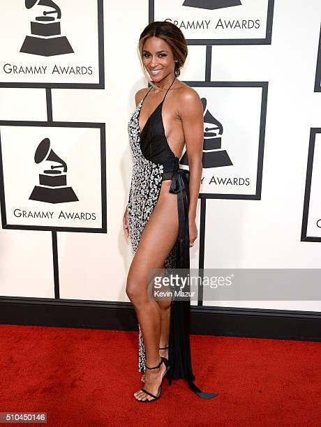 Ciara attends The 58th GRAMMY Awards at Staples Center on February 15 2016 in Los Angeles California