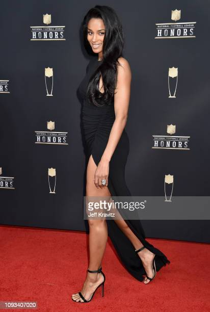 Ciara attends the 8th Annual NFL Honors at The Fox Theatre on February 2 2019 in Atlanta Georgia