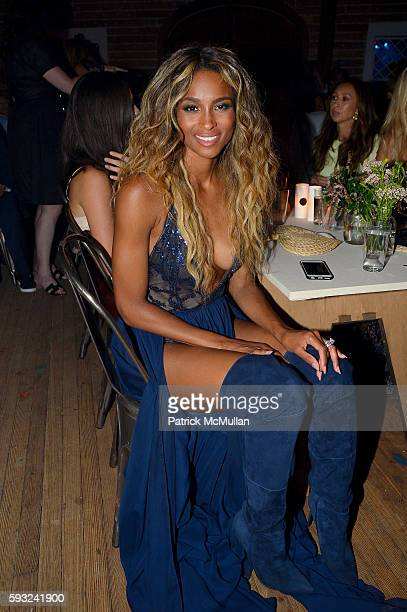 Ciara attends the Apollo in the Hamptons 2016 party at The Creeks on August 20 2016 in East Hampton New York