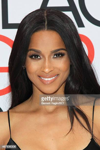 """Ciara attends the BET's """"Black Girls Rock!"""" Red Carpet sponsored by Chevrolet at NJPAC – Prudential Hall on March 28, 2015 in Newark, New Jersey."""