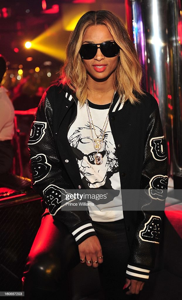 Ciara attends the birthday celebration for Big Boi of Outkast at Club Reign on February 2, 2013 in Atlanta, Georgia.