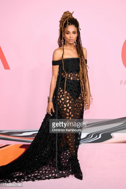 Ciara attends the CFDA Fashion Awards at the Brooklyn Museum of Art on June 03 2019 in New York City