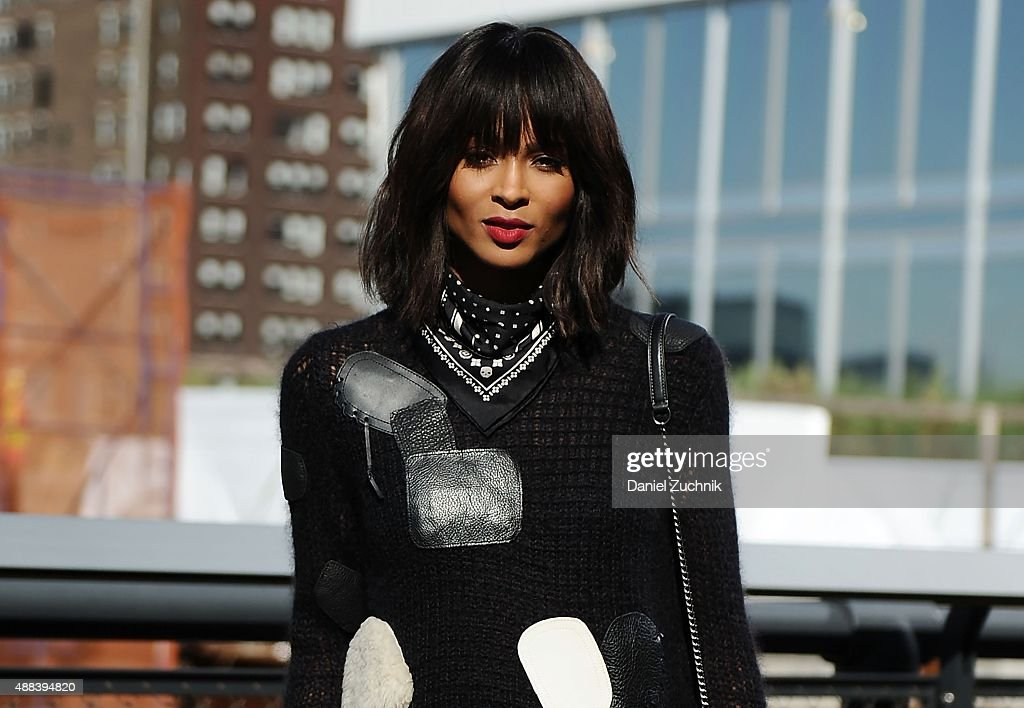Ciara attends the Coach show during New York Fashion Week 2016 on September 15, 2015 in New York City.
