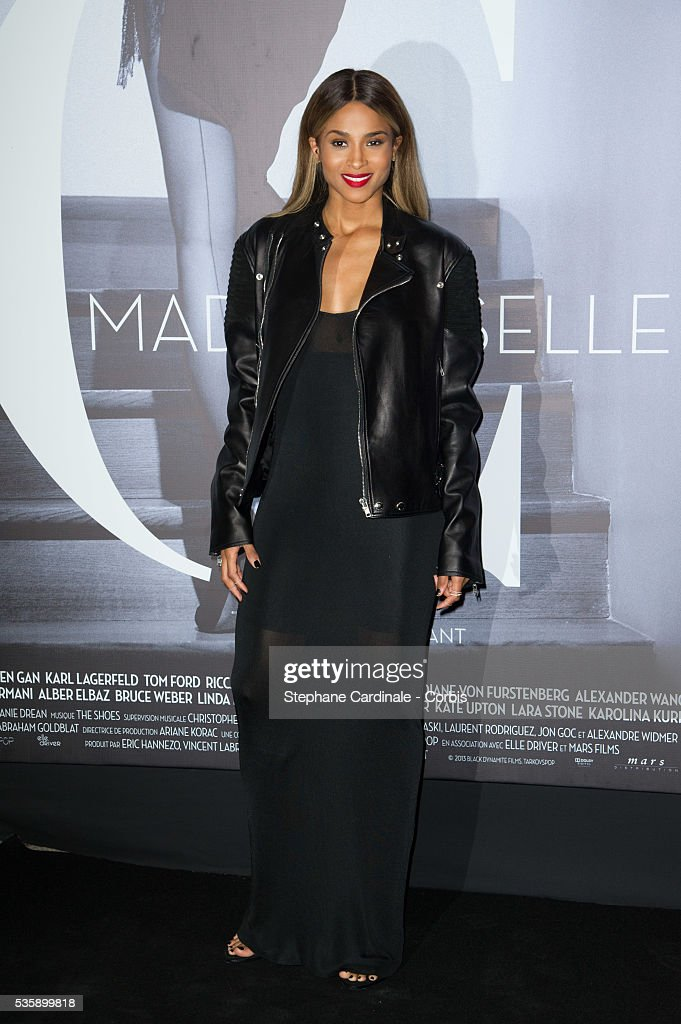 Ciara attends the 'Mademoiselle C' Premiere, as part of the Paris Fashion Week Womenswear Spring/Summer 2014, in Paris.