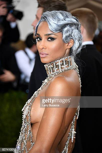 Ciara attends the Manus x Machina Fashion In An Age Of Technology Costume Institute Gala at Metropolitan Museum of Art on May 2 2016 in New York City