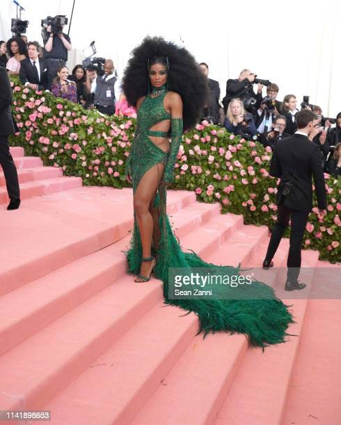 Ciara attends The Metropolitan Museum Of Art's 2019 Costume Institute Benefit Camp Notes On Fashion at Metropolitan Museum of Art on May 6 2019 in...