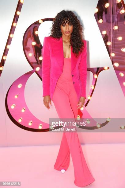 Ciara attends the Summer Party at the VA in partnership with Harrods at the Victoria and Albert Museum on June 20 2018 in London England