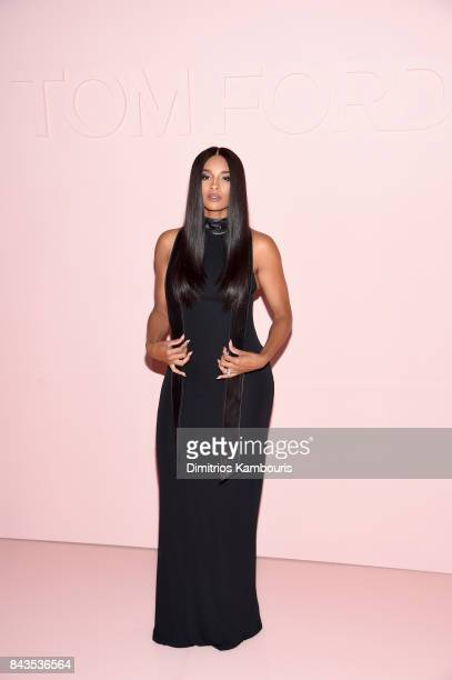 Ciara attends the Tom Ford Spring/Summer 2018 Runway Show at Park Avenue Armory on September 6 2017 in New York City