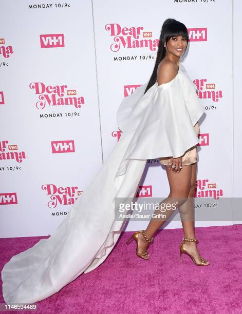 Ciara attends VH1's Annual Dear Mama A Love Letter To Mom at The Theatre at Ace Hotel on May 2 2019 in Los Angeles California