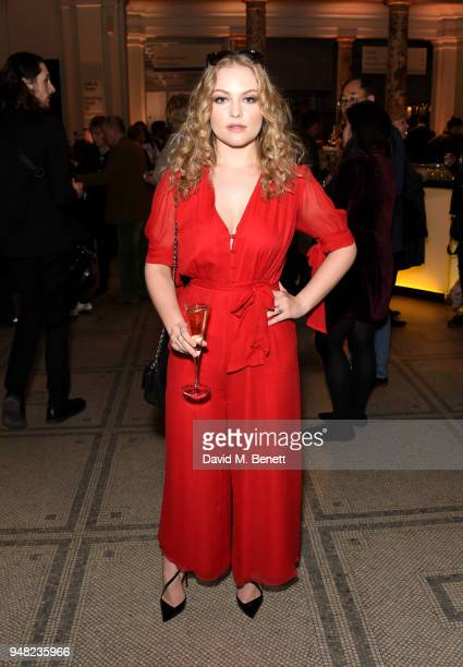 Ciara Charteris attends Fashioned From Nature VIP preview at The VA on April 18 2018 in London England