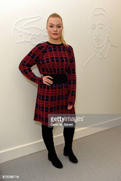 Ciara Charteris attends Lacoste VIP Lounge during 2017 ATP World Tour at The O2 Arena on November 12 2017 in London England