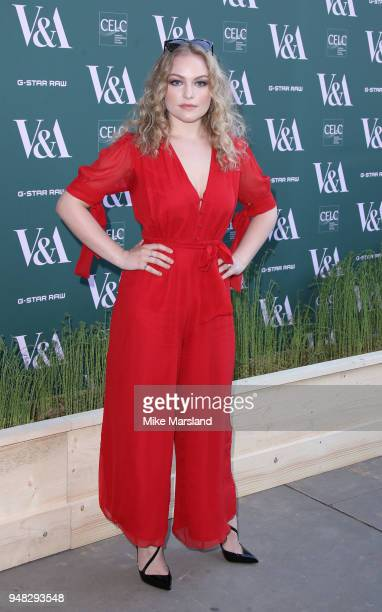 Ciara Charteris attends the Fashioned From Nature VIP preview at The VA on April 18 2018 in London England