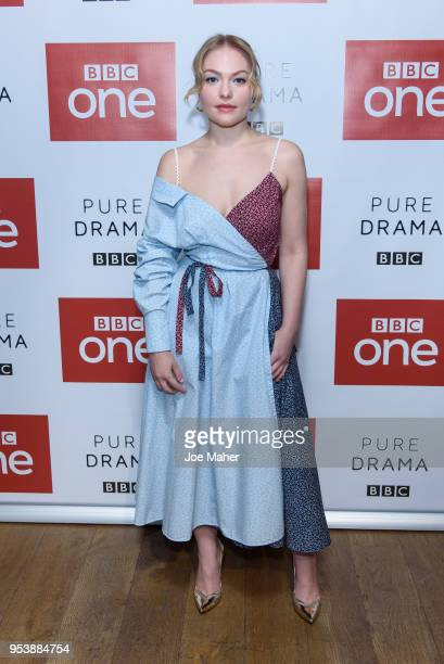 Ciara Charteris attends the Poldark Series 4 premiere at BFI Southbank on May 2 2018 in London England