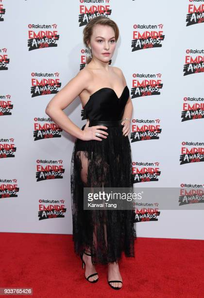 Ciara Charteris attends the Rakuten TV EMPIRE Awards 2018 at The Roundhouse on March 18 2018 in London England