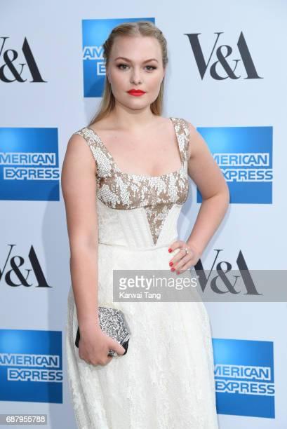 Ciara Charteris attends the Spring 2017 Fashion Exhibition Balenciaga Shaping Fashion at The VA Museum on May 24 2017 in London England
