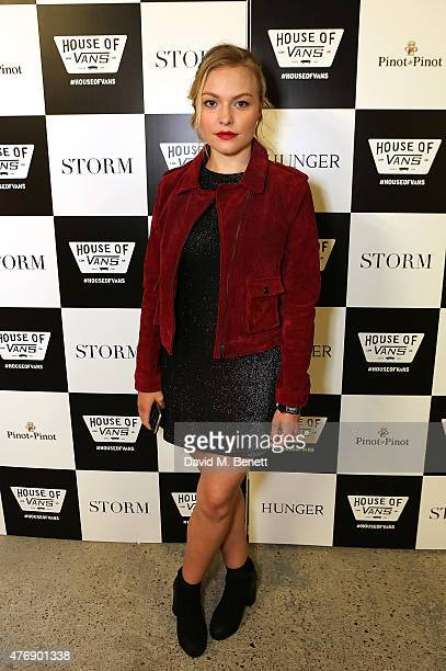 Ciara Charteris attends the Storm LCM SS16 Party at House of Vans on June 12 2015 in London England