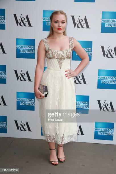 Ciara Charteris attends The VA Opens Spring 2017 Fashion Exhibition Balenciaga Shaping Fashion at The VA on May 24 2017 in London England