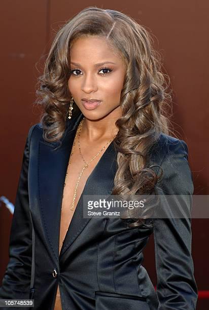 Ciara during 10th Annual Soul Train Lady of Soul Awards Arrivals at Pasadena Civic Auditorium in Pasadena California United States